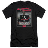 Animal House Ramming Speed Adult 30/1 T-Shirt Black