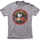 Woodstock Classic Logo Fitted Tri-Blend T-Shirt