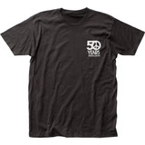 Woodstock 50 Years Fitted Jersey T-Shirt