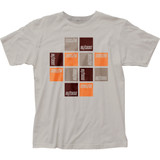 Buzzcocks Squares Fitted Jersey T-Shirt