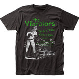 The Vibrators Whips 'n' Furs Fitted Jersey T-Shirt