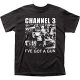 Channel 3 I've Got A Gun Adult T-Shirt