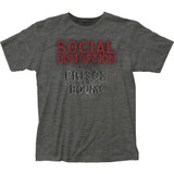 Social Distortion Prison Bound Classic Fitted Jersey T-Shirt