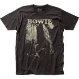 David Bowie Guitar Fitted Jersey Classic T-Shirt