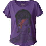 David Bowie Aladdin Sane Junior Women's Dolman Classic T-Shirt