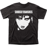 Siouxsie & the Banshees Face Classic Adult T-Shirt