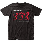 The Police Ghost in the Machine Classic Fitted Jersey T-Shirt