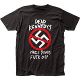 Dead Kennedys Nazi Punks F Off Classic Fitted Jersey T-Shirt