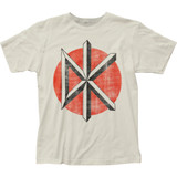 Dead Kennedys Classic Distressed Logo Fitted Jersey T-Shirt