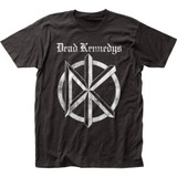 Dead Kennedys Distressed Old English Logo Classic Fitted Jersey T-Shirt