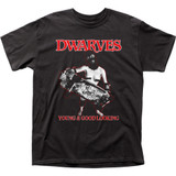 Dwarves Young and Good Looking Adult T-Shirt