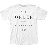 New Order Substance 1987 Classic Fitted Jersey T-Shirt