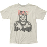 Misfits Classic Skull (Distressed) Classic Fitted Jersey T-Shirt