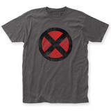 X-Men Distressed Logo Fitted Jersey T-Shirt