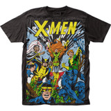 X-Men The Gang Big Print Subway T-Shirt