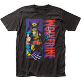 Wolverine Shredded Fitted Jersey T-Shirt