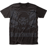 Black Panther Shadow Big Print Subway T-Shirt