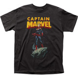 Captain Marvel Asteroid Adult Classic T-Shirt