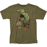 The Incredible Hulk Punch Fitted Jersey Classic T-Shirt