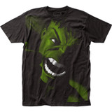The Incredible Hulk Yell Big Print Subway Classic T-Shirt