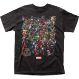 Marvel Comics Marvel Universe Adult T-Shirt
