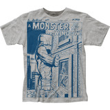 Marvel Comics Monster At My Window Big Print Subway T-Shirt