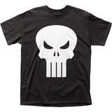 Punisher White Logo Classic Adult T-Shirt