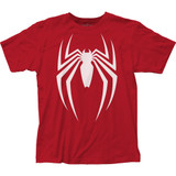 Spider-Man Video Game Logo Classic Fitted Jersey T-Shirt