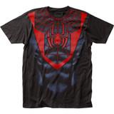Spider-Man Morales Suit Classic Big Print Subway T-Shirt