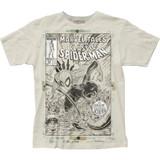 Spider-Man Cover Sketch Classic Big Print Subway T-Shirt