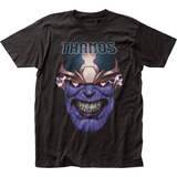 Thanos Teeth Clenched Fitted Jersey T-Shirt