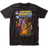 Thanos The Infinity Gauntlet Fitted Jersey T-Shirt