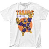 Thanos Mad Titan Adult T-Shirt