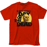 Day of the Dead Circle Portrait Adult T-Shirt