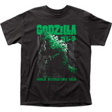 Godzilla World Destruction Tour Adult Classic T-Shirt