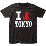 Godzilla I Godzilla Tokyo Fitted Jersey Classic T-Shirt