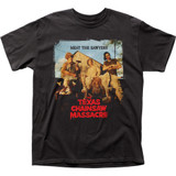 Texas Chainsaw Massacre Meat the Sawyers Adult Classic T-Shirt