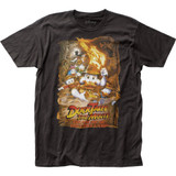 Duck Tales the Movie Lost Lamp Fitted Jersey T-Shirt