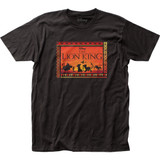 The Lion King Sunset Fitted Jersey T-Shirt
