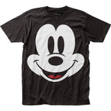 Mickey Mouse Face Big Print Subway T-Shirt