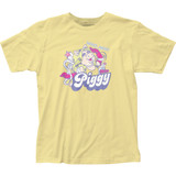 The Muppets Miss Piggy Fitted Jersey T-Shirt