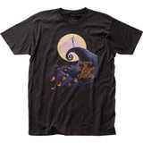 The Nightmare Before Christmas Poster Fitted Jersey T-Shirt