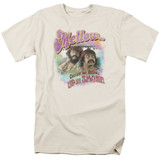 Cheech and Chong Up In Smoke Mellow S/S Adult 18/1 T-Shirt Cream