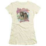 Cheech and Chong Up In Smoke Mellow S/S Junior Women's T-Shirt Sheer Cream