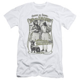 Cheech and Chong Up In Smoke Labrador S/S Adult 30/1 T-Shirt White