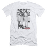 Cheech and Chong Up In Smoke Square S/S Adult 30/1 T-Shirt White