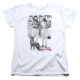 Cheech and Chong Up In Smoke Square S/S Women's T-Shirt White