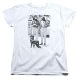 Cheech and Chong Up In Smoke Dog S/S Women's T-Shirt White