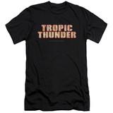 Tropic Thunder Title S/S Adult 30/1 T-Shirt Black