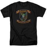 Tropic Thunder Patch S/S Adult 18/1 T-Shirt Black